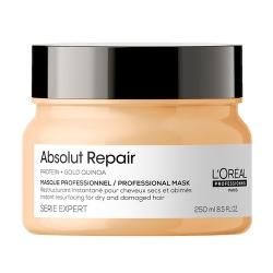 L'Oreal Professionnel Absolut Repair Gold Quinoa+Protein Masque РЕНО - Маска кремовая для очень поврежденных волос 250 мл