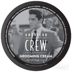 American Crew King Grooming Cream - Крем с сильной фиксацией и высоким уровнем блеска для укладки волос и усов, 85 г