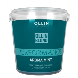 Ollin Professional Performance Blond Powder With Mint Aroma - Осветляющий порошок с ароматом мяты 500 г
