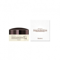Deoproce Relaxing Care Mink Oil Cream - Расслабляющий крем для лица с маслом норки, 100 мл