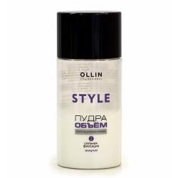 Ollin Style Strong Hold Powder - Пудра для прикорневого объёма волос сильной фиксации 10 г