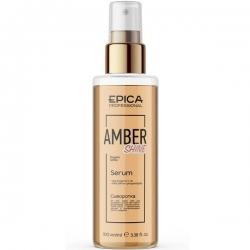 Epica Amber Shine Organic Serum - Сыворотка для восстановления волос 100мл