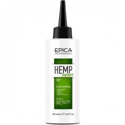 Epica Hemp Therapy Scalp Peeling - Пилинг для кожи головы 150мл