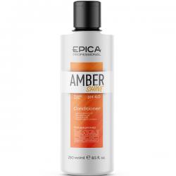 Epica Amber Shine Conditioner - Кондиционер для восстановления и питания волос с облепиховым маслом 250мл