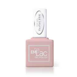E.MiLac Top gel Tackless - Покрытие верхнее для гель-лака, без липкого слоя, 15мл