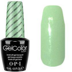 Opi GelColor Gargantuan Grn Grape, - Гель-лак для ногтей, 15мл