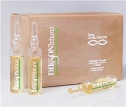 Dikson Phials - Ампулы с экстрактом плюща себорегулирующие, 8*8 мл