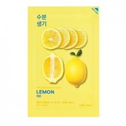 Holika Holika Pure Essence Mask Sheet Lemon -  Тонизирующая тканевая маска, лимон, 20 мл -