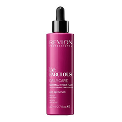 Revlon Be Fabulous Daily Care Normal Hair Thick Anti-Aging Serum - Антивозрастная сыворотка для нормальных и густых волос 80 мл