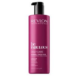 Revlon Be Fabulous Daily Care Normal Hair Thick Shampoo - Очищающий шампунь для нормальных и густых волос 1000 мл