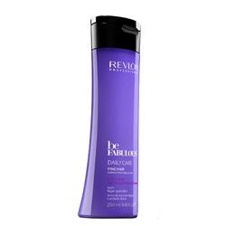 Revlon Be Fabulous Daily Care Fine Hair  Lightweight Shampoo - Очищающий шампунь для тонких волос, 250 мл