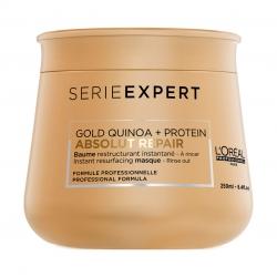 L'Oreal Professionnel Absolut Repair Gold Quinoa+Protein Masque - Маска кремовая для очень поврежденных волос 250 мл