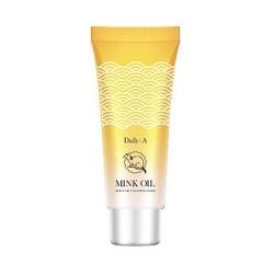 Deoproce Daily A Mink Oil Moisture Cleansing Foam - Пенка для умывания увлажняющая, 100 гр