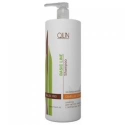 Ollin Professional Basic Line - Шампунь для частого применения с экстрактом листьев камелии 750 мл