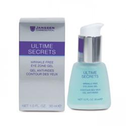 Janssen Ultime Secrets Wrinkle Free Eye Zone Gel - Гель от морщин для кожи вокруг глаз 30 мл