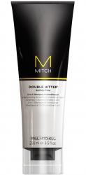Paul Mitchell Mitch Double Hitter - Шампунь и кондиционер 2 в 1, 250 мл