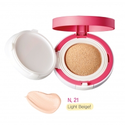 Yadah Be My Cushion Light Beige - Кушон для макияжа, тон 21, 15 г