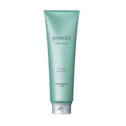 Lebel Proedit Care Works Soft Fit Plus Treatment - Маска для жестких, непослушных/очень поврежденных волос 250 мл