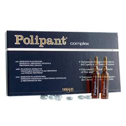 Dikson Polipant Complex - Уникальный биологический ампульный препарат для лечения выпадения волос и ухода за кожей головы 12*10 мл. Общий объем: 120 мл