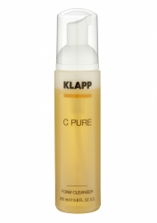 Klapp C Pure Foam Cleanser - Очищающая пенка с витаминами, 200 мл