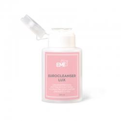 E.Mi Eurocleanser LUX - Средство для обезжиривания ногтей и снятия липкого слоя, с помпой, 200мл