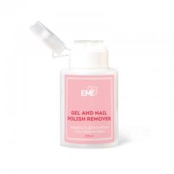 E.Mi Gel and Nail Polish Remover - Жидкость для снятия гель-лака и лака, с помпой, 200мл