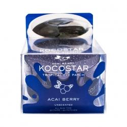 Kocostar Tropical Eye Patch (Acai Berry)  - Гидрогелевые патчи для глаз Тропические фрукты, Ягоды Асаи (60 патчей/30 пара) 90г