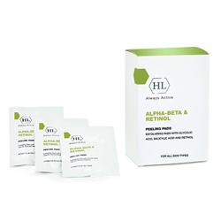 Holy Land Alpha-Beta & Retinol Peeling Pads - Отшелушивающие салфетки 24 шт