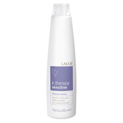 Lakme K.Therapy Sensitive Relaxing shampoo sensitive hair&calp - шампунь успокаивающий для чувствительной кожи головы и волос 300 мл