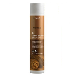 "Lakme Teknia Ultra brown shampoo - Шампунь для поддержания оттенка окрашенных волос ""Коричневый"" 100 мл"
