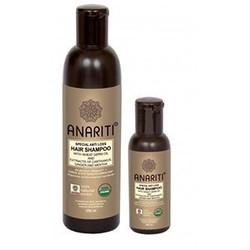Anariti Shampoospecial Anti Loss Hair - Специальный шампунь против выпадения волос с маслом зародышей пшеницы и экстрактами дикого шафрана, имбиря и мяты 100 мл