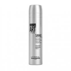 L'Oreal Professionnel tecni.art Savage Panache Pure Spray - Сухой спрей с пудровой текстурой без запаха, 250 мл
