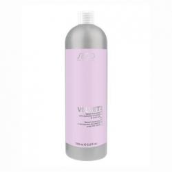 Kapous studio luxe care velvet-shampoo with cashmere proteins & linen oil - Бархат-шампунь с протеинами кашемира и маслом льна, 1000мл
