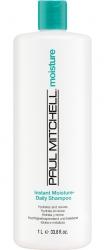 Paul Mitchell Instant Moisture Daily Shampoo - Увлажняющий шампунь для сухих и нормальных волос, 1000мл