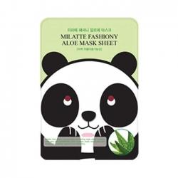 Milatte Fashiony Aloe Mask Sheet - Маска тканевая с экстрактом алоэ, 21 г