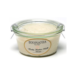 Egomania Body Butter Milk Mango - Крем-масло для тела Манго 220 мл