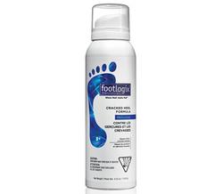 Footlogix Cracked heel formula - Мусс от трещин на пятках, 120 мл