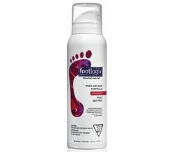 Footlogix Peeling skin formula - Мусс очищающий для кожи между пальцев ног, 120 мл