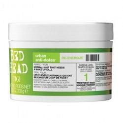 Bed Head Urban Anti+Dotes Re-Energize Mask - Маска-Энергетик для нормальных волос Уровень 1, 200 Мл