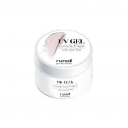 Runail - Камуфлирующий УФ-гель Холодный нюд №4072, 15 г