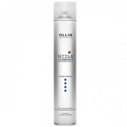 Ollin Style Hairlac Extra Strong - Лак экстрасильной фиксации для волос 450 мл
