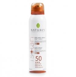Nature's Sun - Солнцезащитный спрей SPF 50, UVA-UVB-IR, 125 мл