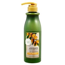 Welcos Confume Argan Treatment Smoothing Hair Essence - Эссенция для волос с аргановым маслом, 500 мл
