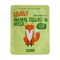 Baviphat Dr.119 Lovely Animal Mask - Маска для лица омолаживающая, 25 мл