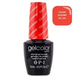 Opi GelColor Cajun Shrimp, - Гель-лак для ногтей, 15мл