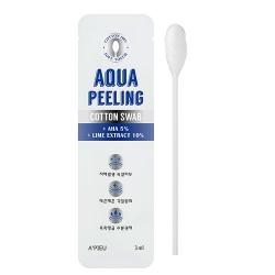 A'Pieu Aqua Peeling Cotton Swab - Очищающие палочки от черн.точек с АНА-кислотами, 3мл