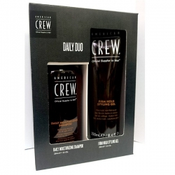 American Crew - Подарочный набор Дэйли Шампунь 250 мл + Крем Forming Creme 85 мл