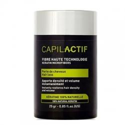 Coiffance Capil Actif - Пудра из кератиновых микроволокон Черный, 25 мл