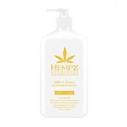 Hempz Milk & Honey Herbal Body Moisturizer - Молочко для тела увлажняющее Молоко и Мёд, 500 мл