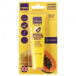 Purple Tree Miracle Balm Papaya - Бальзам для губ папайя, 25 мл